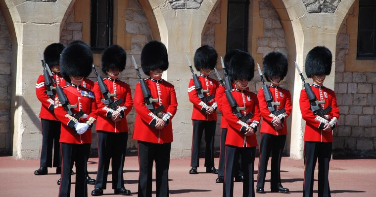 Changing of the Guard, Windsor Castle