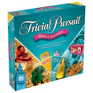 trivial pursuit family edition board games