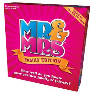 Mr and Mrs family edition board games