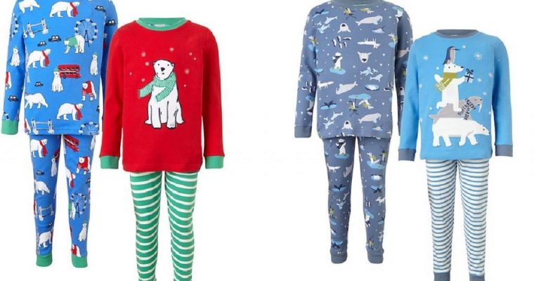 Children's Christmas Pyjamas – our top picks