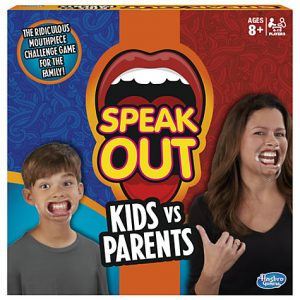 speak out kids vs parents board games