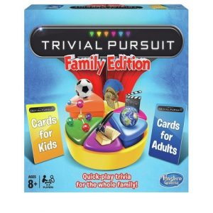 Trivial Pursuit Family Edition Christmas Board Games