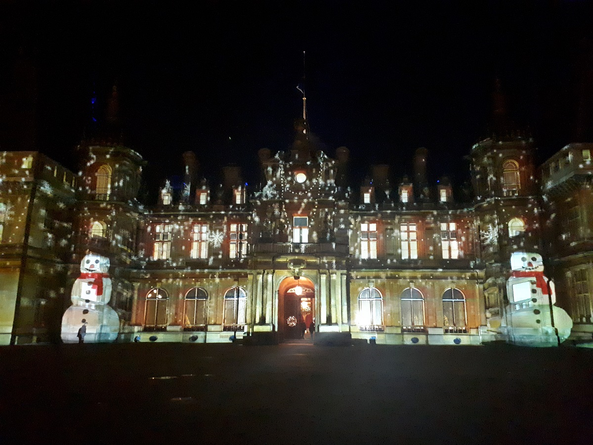 Christmas 2017 at Waddesdon Manor