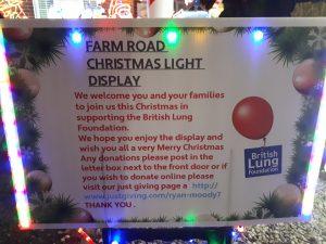 Farm Road Christmas Lights 2017 Donations
