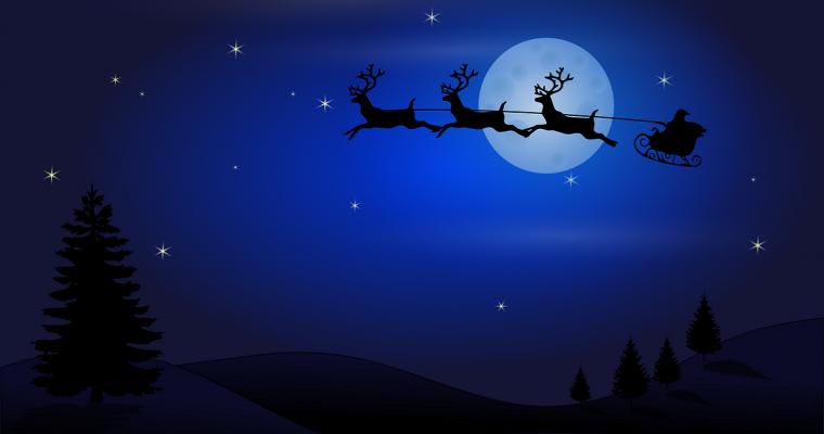 Santa Claus Sleigh Schedule 2017, Maidenhead