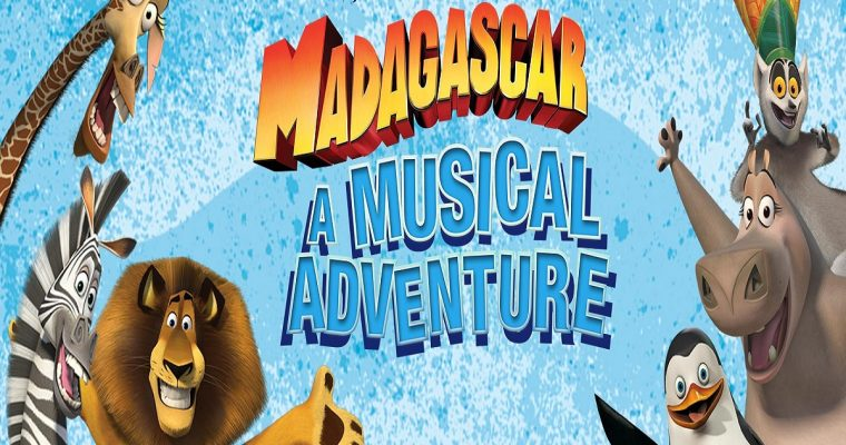 Madagascar A Musical Adventure – South Hill Park, Bracknell