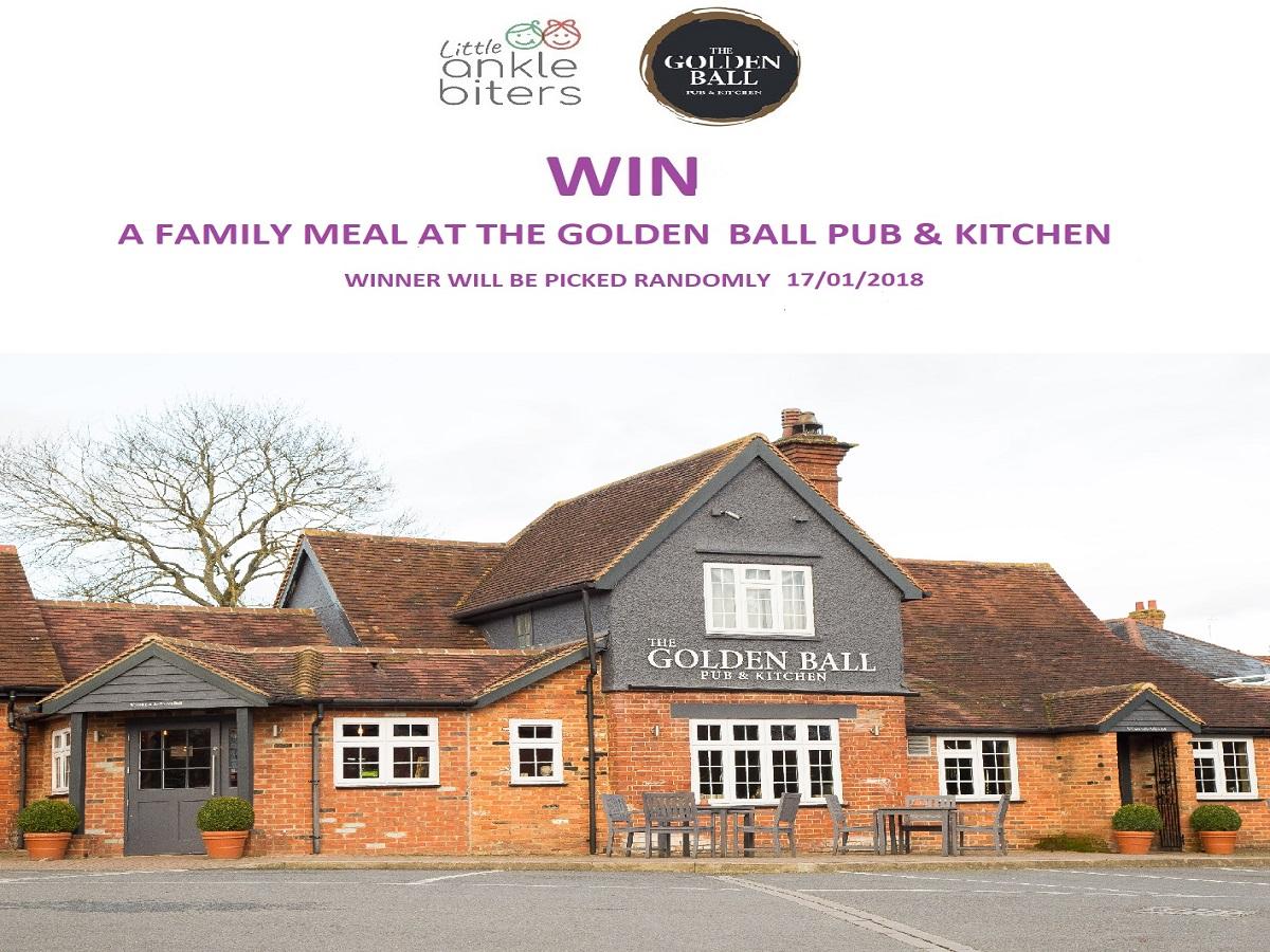 Win a Family Meal: The Golden Ball, Maidenhead: T&Cs