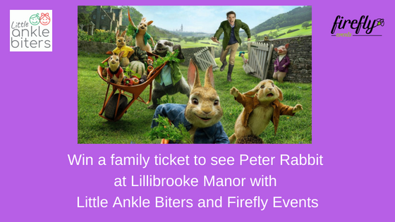 Win a Family Ticket to see Peter Rabbit at Lillibrooke Manor, Maidenhead