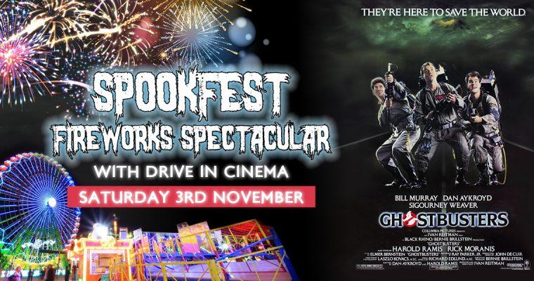 Royal Windsor Racecourse Spookfest & Sparkle Fireworks Display 2018