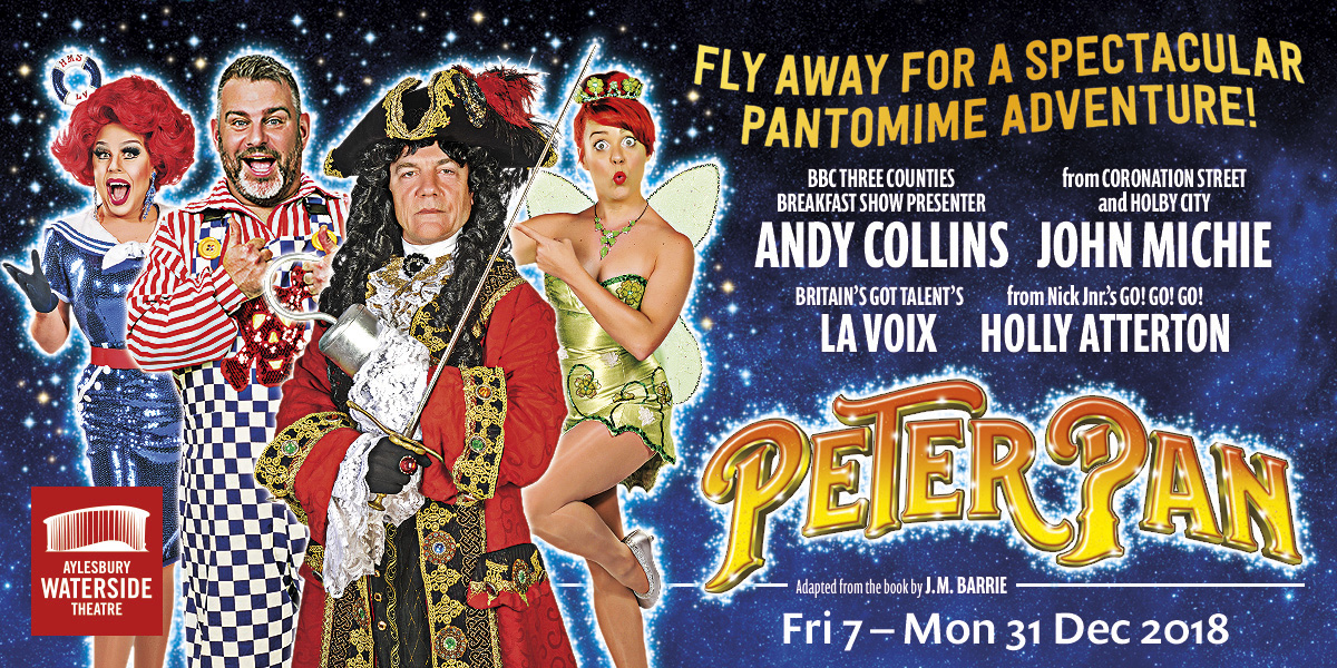 Peter Pan Pantomime – Aylesbury Waterside Theatre
