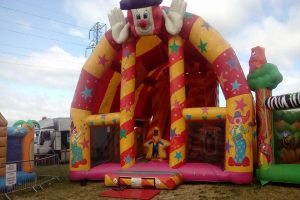 Inflatable Theme Park weekend newbury berkshire september 2018
