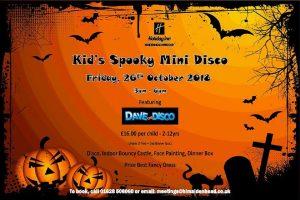 Kids spooky halloween disco holiday inn maidenhead october 2018