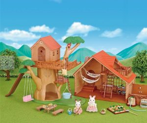 Christmas Gifts sylvanian families tree house 2018