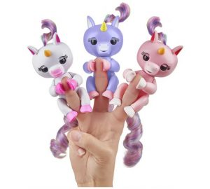 Fingerlings Unicorns Christmas gifts 2018