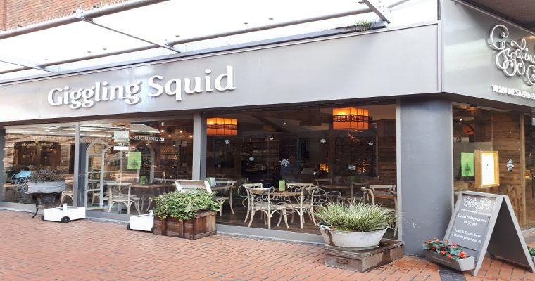 Giggling Squid Wokingham: Our Family Dining Review