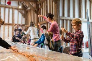Lantern making workshop norden farm maidenhead 17 november 2018