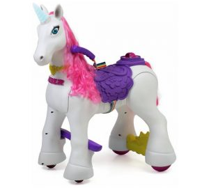 My lovely Unicorn electric ride on christmas gifts 2018