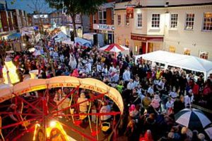 Wokingham Winter Carnival 25 november 2018 berkshire