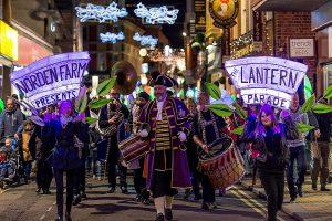 Maidenhead lantern parade norden farm berkshire 8 december 2018