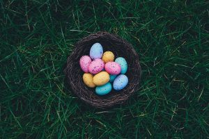 Easter egg hunt at Basildon Park april 2019