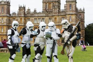 easter egg hunt highclere castle berkshire april 2019