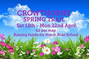 Crowthorne easter trail april 2019 berkshire