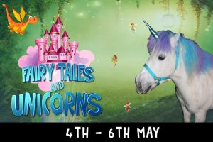 Fairy Tales and Unicorns weekend 4 kingdoms newbury may 2019