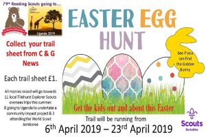 Tilehurst easter trail april 2019 berkshire